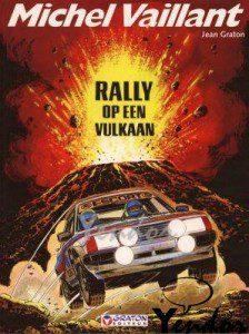 Rally op een vulkaan