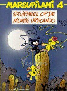 Stuifmeel op Monte Urticandro