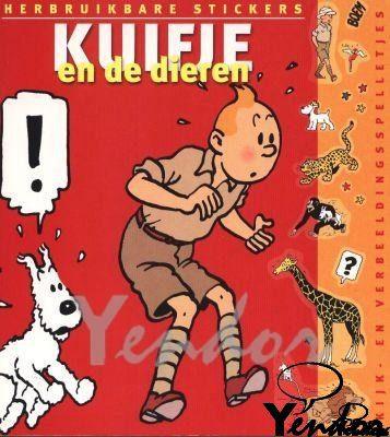 Kuifje en de dieren (stickerboek)