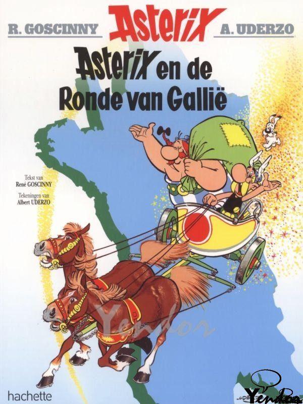Asterix en de ronde van Gallie