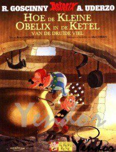 Hoe de kleine Obelix in de ketel viel