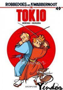 Robbedoes en Kwabbernoot in Tokio