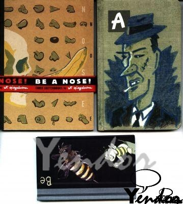 Be A Nose (3 schetsboekjes)