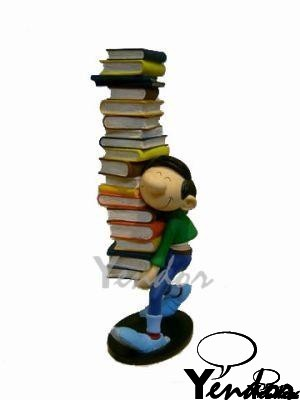 Guust met boeken