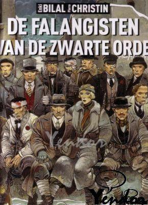 De Falangisten van de zwarte orde