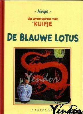 De blauwe lotus