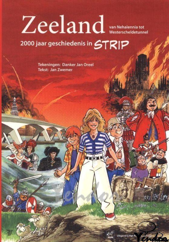 Zeeland 2000 jaar geschiedenis in strip