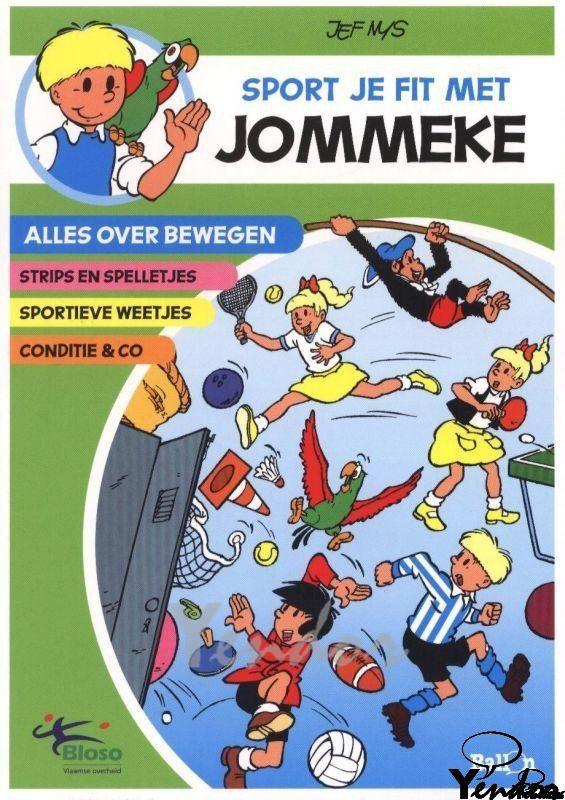 Sport je fit met Jommeke