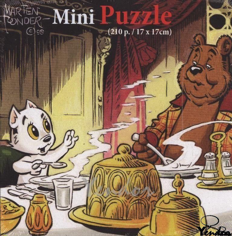 Heer Bommel en Tom Poes puzzel, tafel