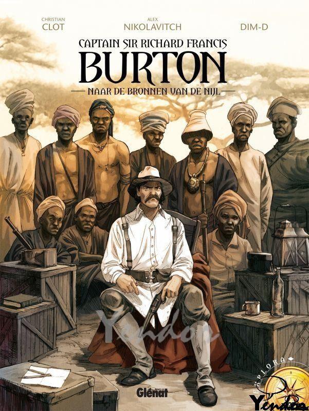Burton 1, naar de bronnen van de Nijl