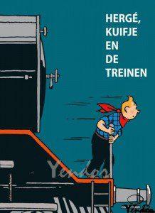 Herge, Kuifje en de treinen
