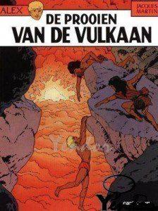 De prooien van de vulkaan