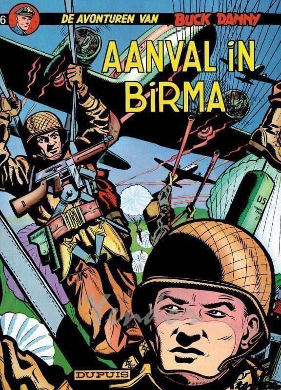 Aanval in Birma