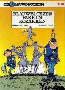 Blauwbloezen pakken Kozakken