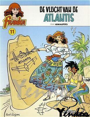 De vlucht van Atlantis