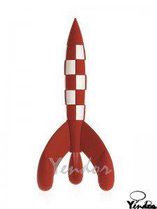 Kuifje Raket 17 cm