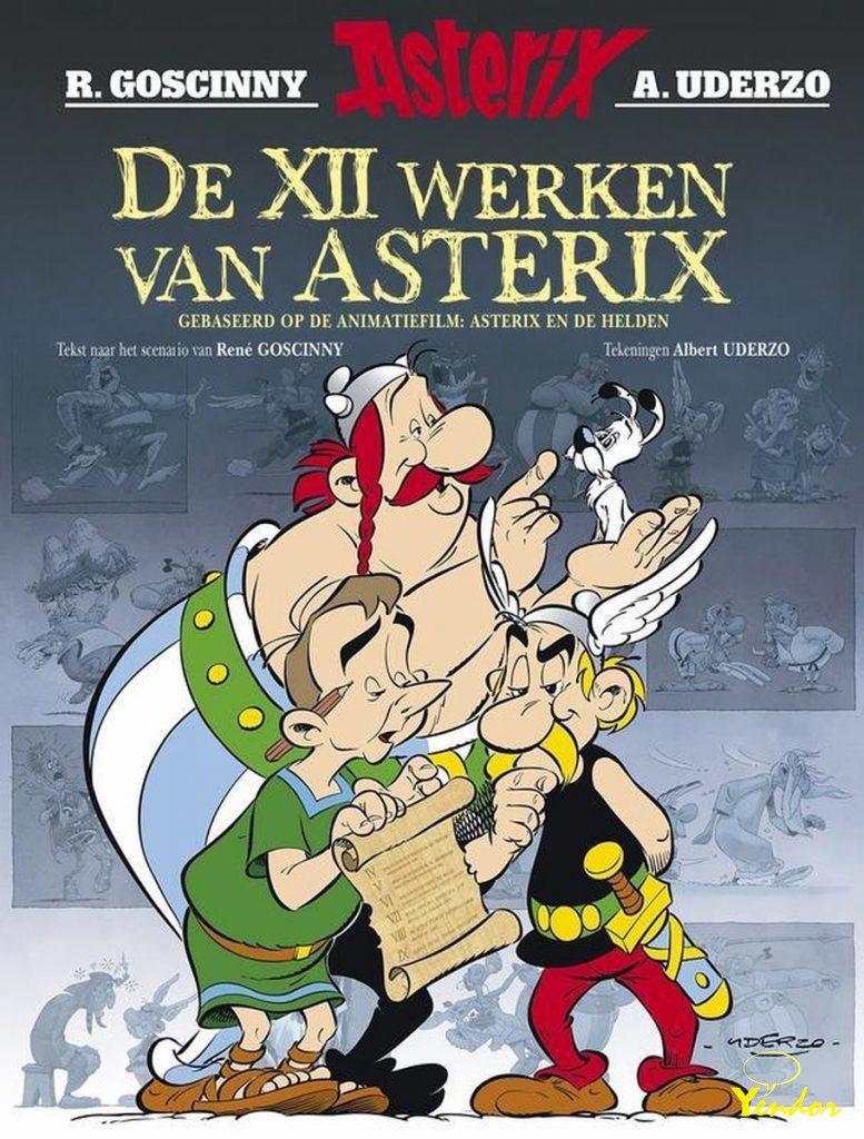 De XII werken van Asterix