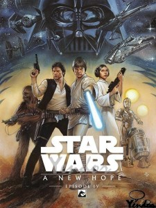 Star Wars a New Hope (remastered)