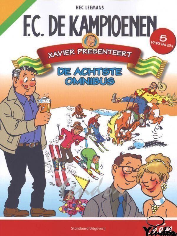 F.C. De Kampioenen omnibus no 8