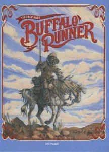 Buffalo Runner - blauwe cover