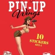 Pin Up stickerset 1 - 9789463062824