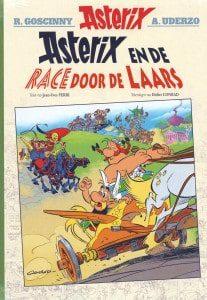 Asterix en de race door de laars
