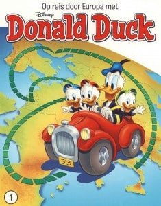 Donald Duck Op reis door Europa