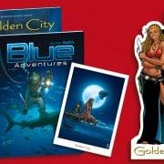 Golden city en Blue adventures pakket - 9789463063401