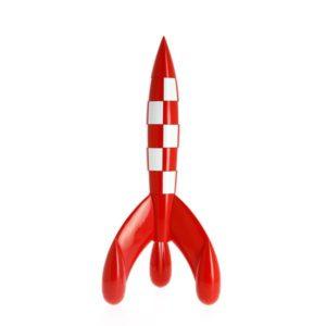 Kuifje Raket 90 cm