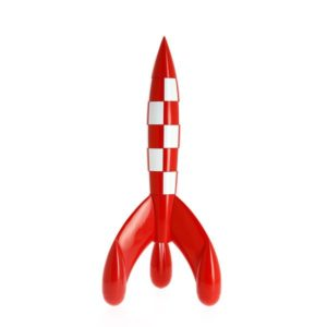 Kuifje Raket 30 cm