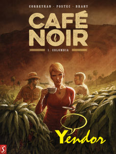 Cafe Noir - softcovers 1