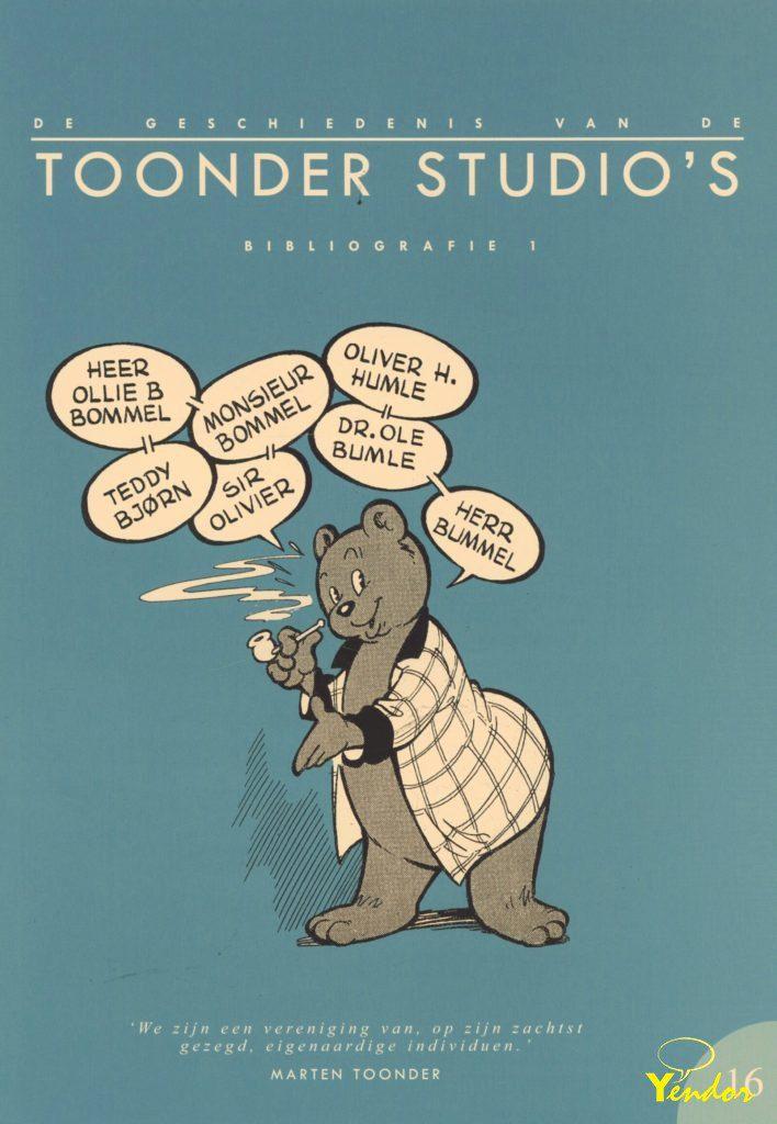 De geschiedenis van de Toonder studio's 16