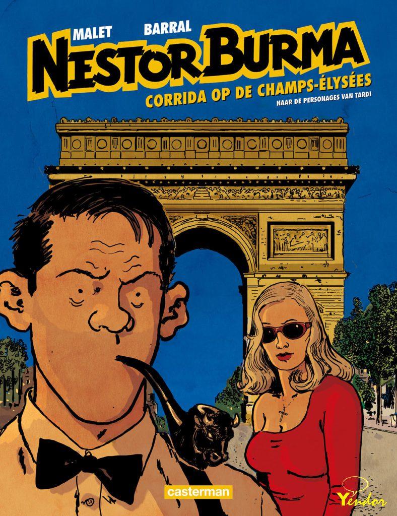 Corrida op de Champs-Elysées