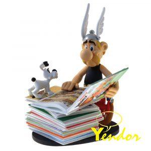 Asterix op stapel stripboeken