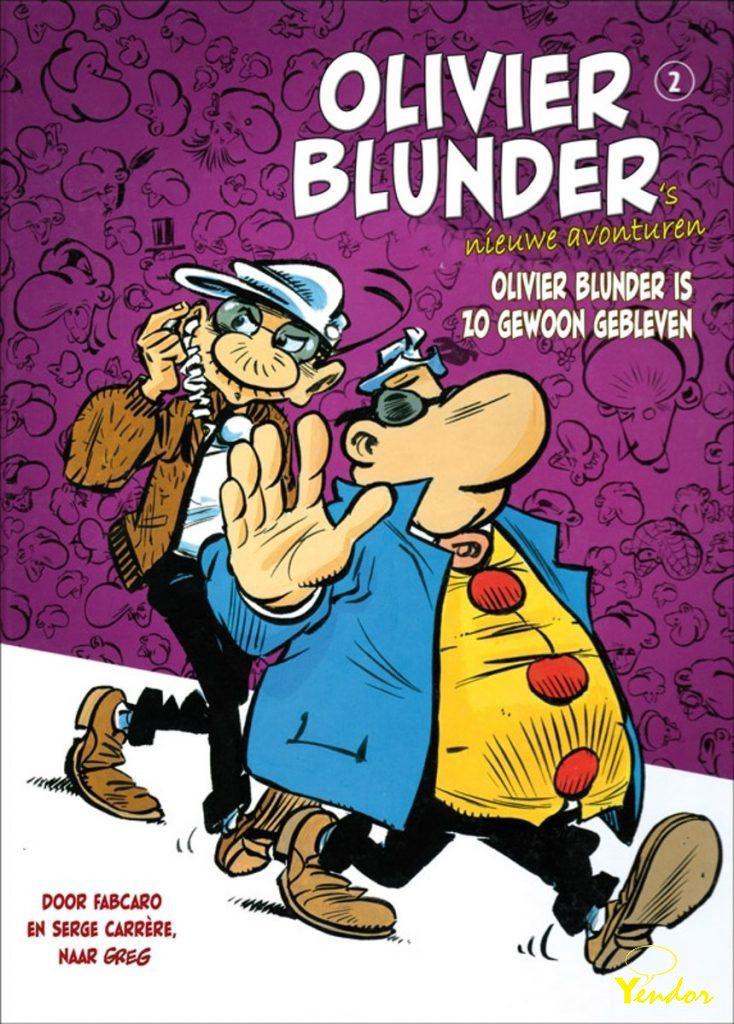 Olivier Blunder is zo gewoon gebleven.