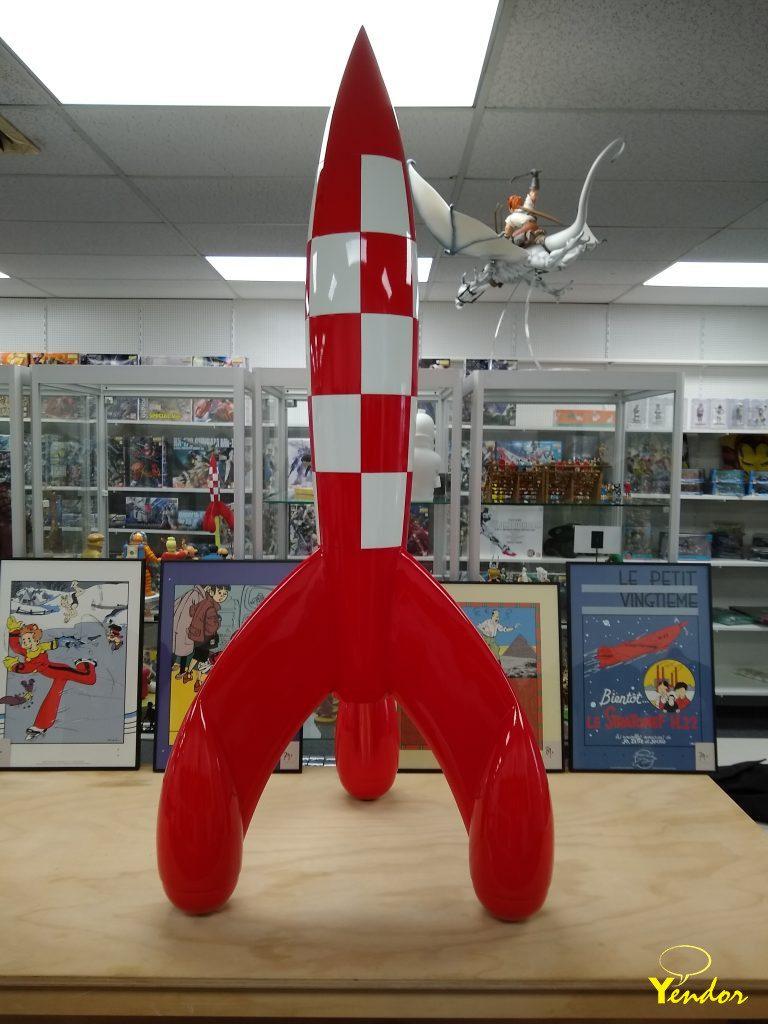 Raket van Kuifje 150 cm