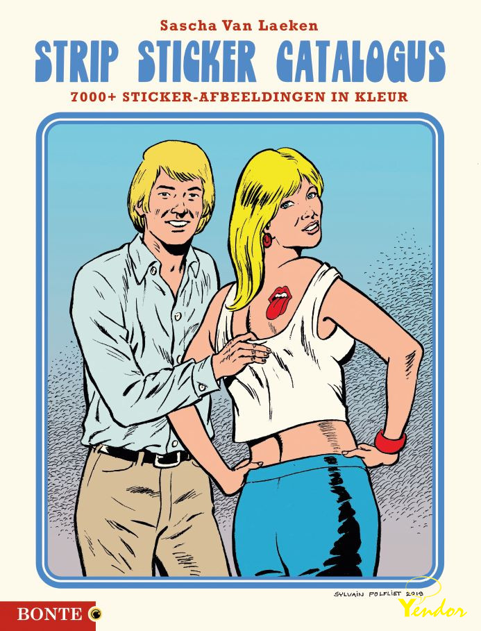 Strip Sticker Catalogus