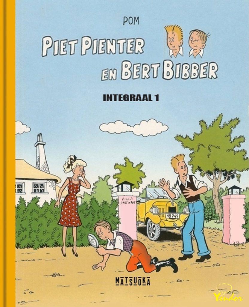 Piet Pienter en Bert Bibber integraal 1