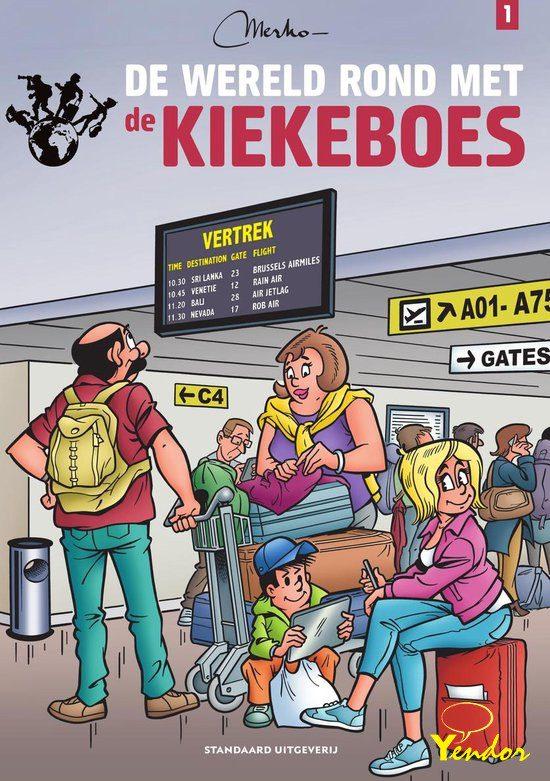 De Kiekeboes special - De wereld rond met de Kiekeboes