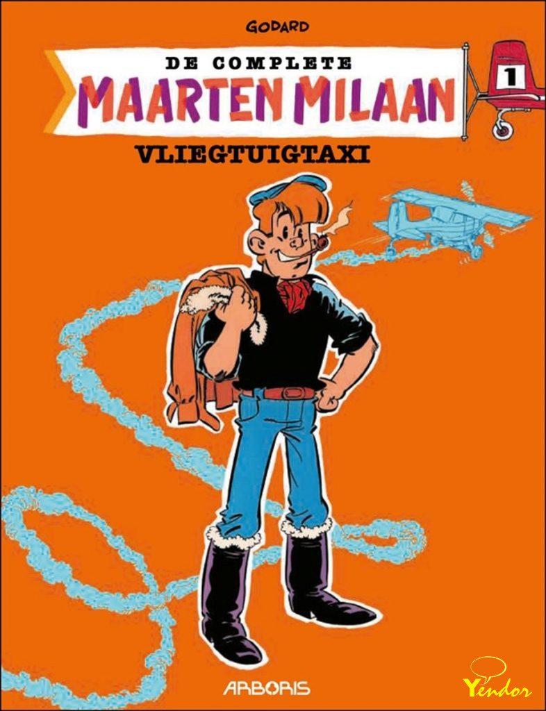 Maarten Milaan integraal 1, luxe editie