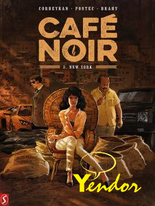 Cafe Noir - hardcovers 3