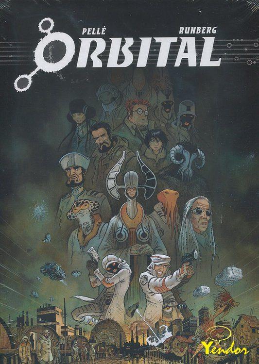 Orbital integraal 1  luxe editie