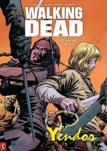 2. Walking dead - hardcovers 26