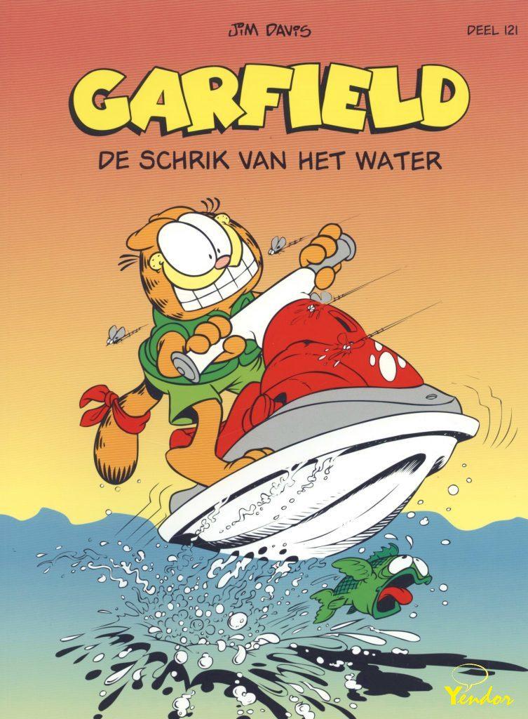 Garfield de schrik van het water