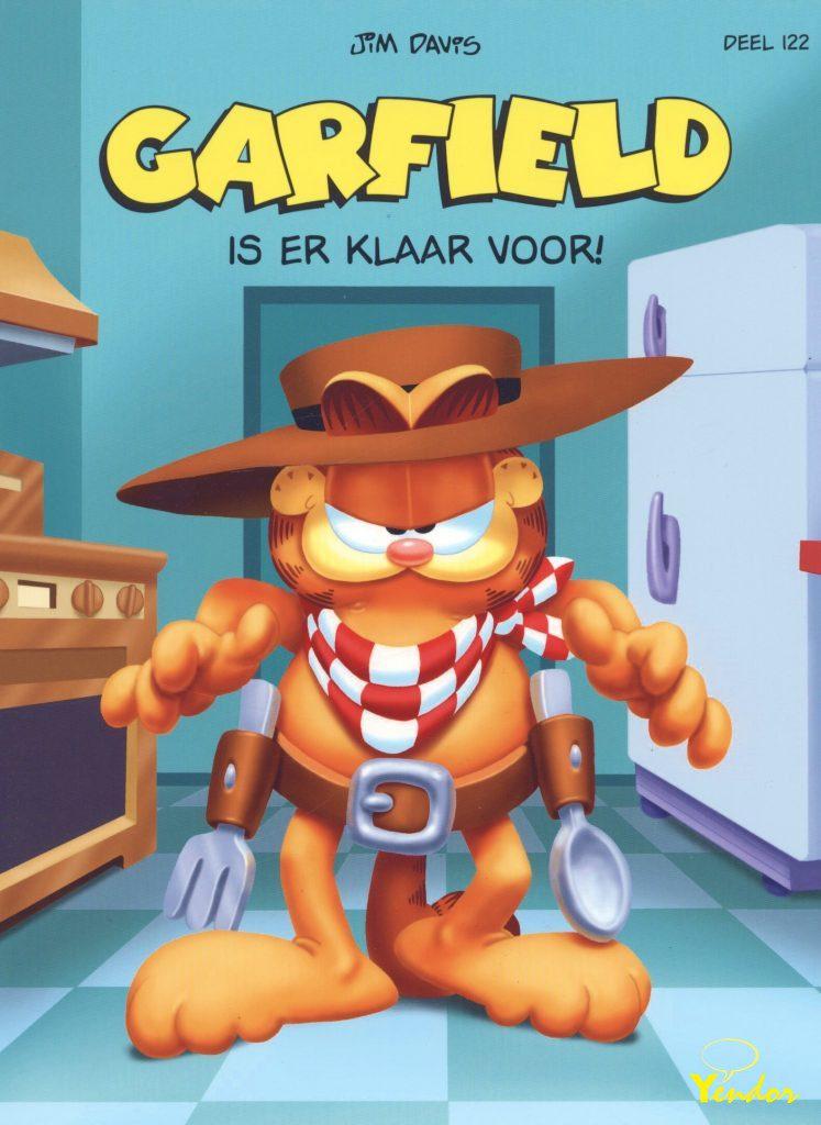 Garfield is er klaar voor