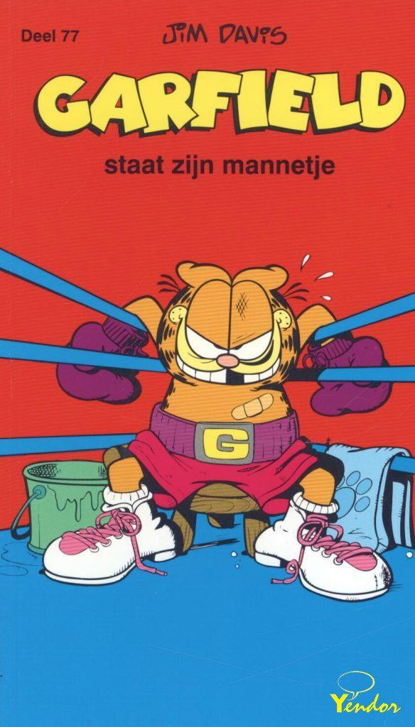Garfield staat zijn mannetje