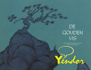 De gouden vis, de productie van Marten Toonders eerste tekenfilm.
