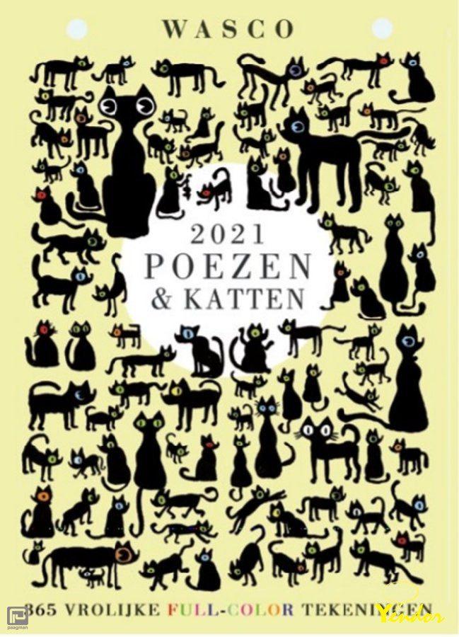 Poezen & Katten Scheurkalender 2021
