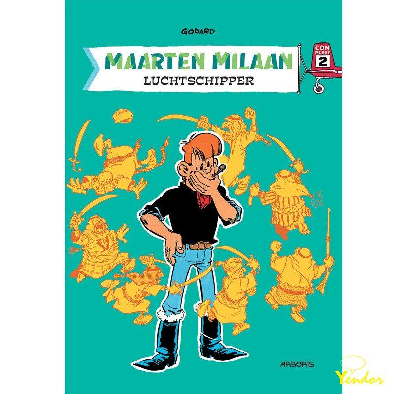 Maarten Milaan integraal 2, luxe editie