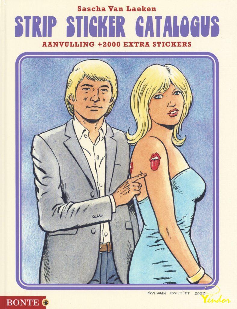 Strip sticker catalogus update